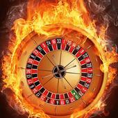 Fiery roulette LWP icon