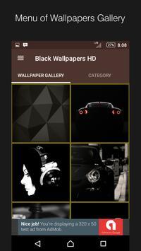 Black Wallpapers: Dark Backgrounds HD screenshot 1
