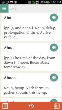 Kapampangan Dictionary apk screenshot