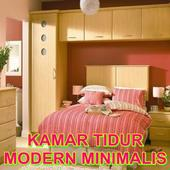 modern bedroom design icon