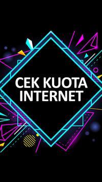 Cek Kuota Internet poster