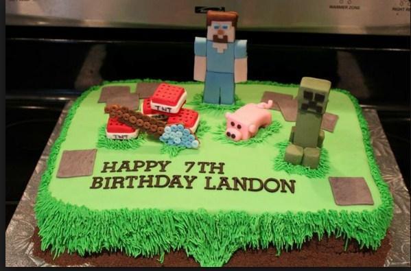 Pleasant Minecraft Birthday Cake Idea For Android Apk Download Funny Birthday Cards Online Alyptdamsfinfo