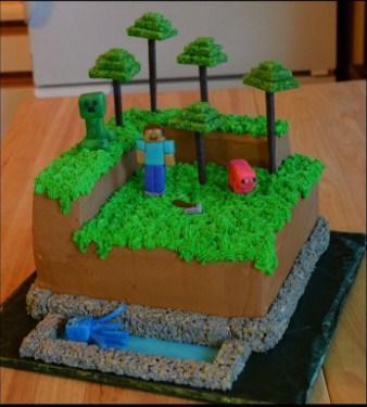 Astonishing Minecraft Birthday Cake Idea For Android Apk Download Funny Birthday Cards Online Alyptdamsfinfo