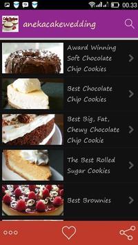 Resep Aneka Cake Wedding apk screenshot