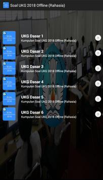 Soal UKG 2018 Offline Terbaru screenshot 2