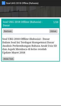 Soal UKG 2018 Offline Terbaru screenshot 3