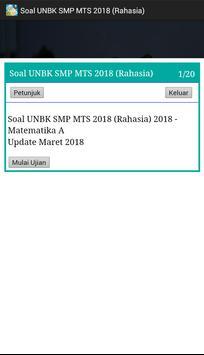 Soal UNBK SMP 2018 Offline (Ujian Nasional) screenshot 3