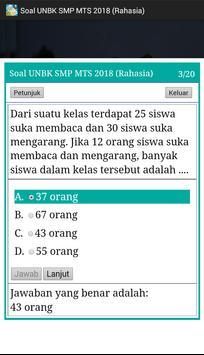 Soal UNBK SMP 2018 Offline (Ujian Nasional) screenshot 6