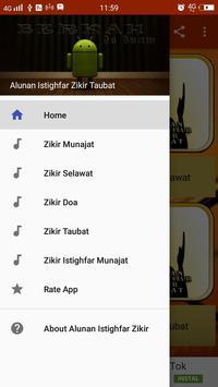 Alunan Istighfar Zikir Taubat poster