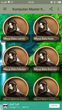 Kumpulan Master Kicau Murai Batu poster