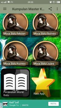 Kumpulan Master Kicau Murai Batu apk screenshot