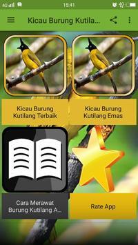Kicau Burung Kutilang Emas screenshot 1