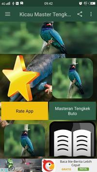 Kicau Master Tengkek Buto apk screenshot