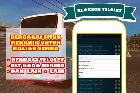 Klakson Telolet Po Garuda Mas poster