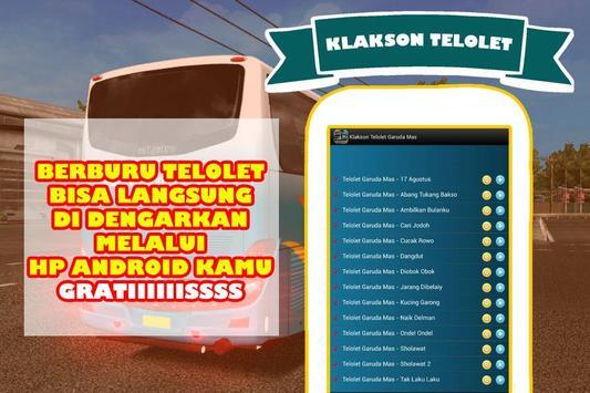 Klakson Telolet Po Garuda Mas screenshot 1