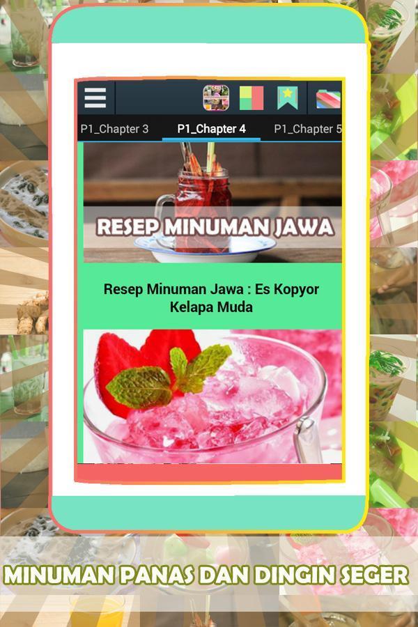 Resep Minuman Jawa Sederhana For Android Apk Download