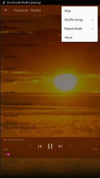 Panduan Sholat Lima Waktu poster