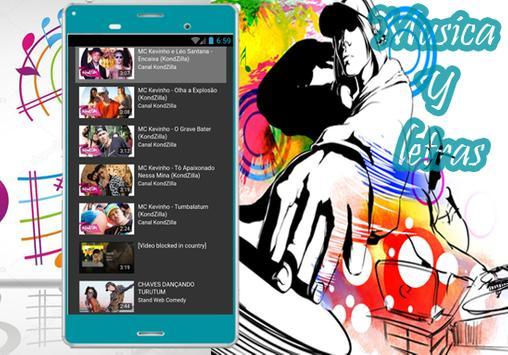 MC Kevinho e Léo Santana - Musica Encaixa  Y letra apk screenshot