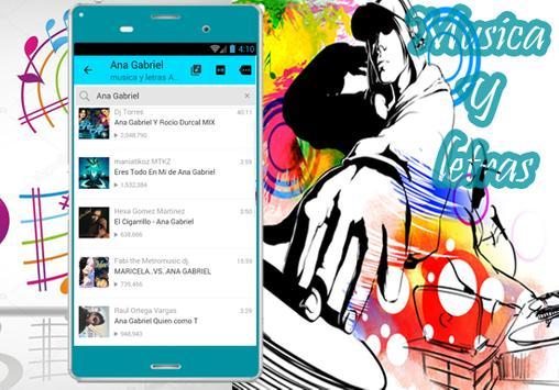 Ana Gabriel - Musica Tú Lo Decidiste Y Letras apk screenshot