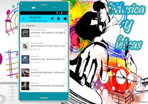 Anuel AA  - Musica La Última Vez Ft.Bad Bunny apk screenshot