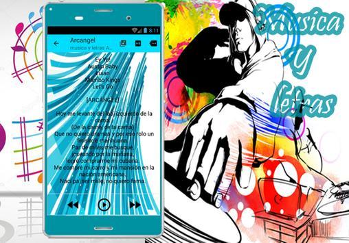 Arcangel - Musica Me Acostumbre ft.Bad Bunny Letra screenshot 3