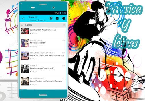 Lucero - Musica Hasta Que Amanezca Y letras apk screenshot