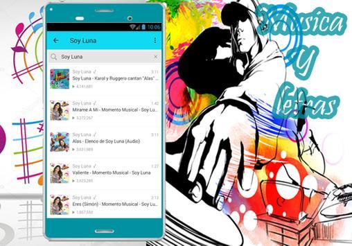 Soy Luna - Musica Siempre Juntos Y Letras 2017 apk screenshot