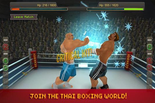 Thai Boxing League poster