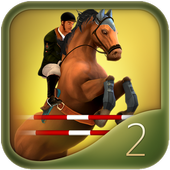 Jumping Horses Champions 2Free icon