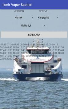 İzmir Vapur Saatleri apk screenshot