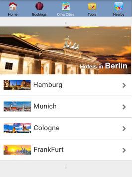 Berlin Hotels screenshot 1
