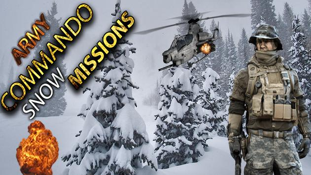 Army Commando Snow Missions poster