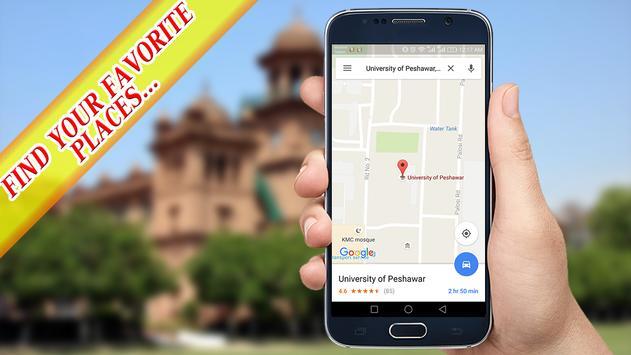 🛰️ GPS Navigation & Maps Offline : Route finder screenshot 1