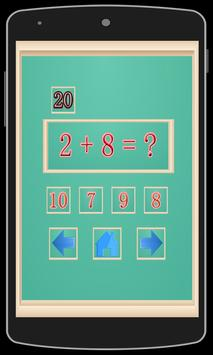 Learning Math Addition For Kid screenshot 8