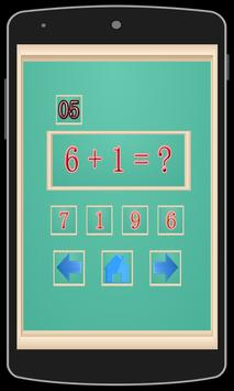 Learning Math Addition For Kid poster