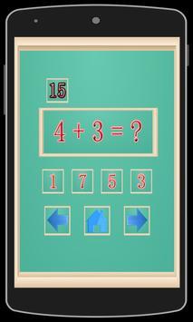 Learning Math Addition For Kid screenshot 1