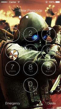 Resident Evil Lock Screen Wallpapers screenshot 4
