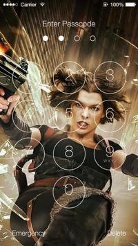 Resident Evil Lock Screen Wallpapers screenshot 6