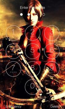 Resident Evil Lock Screen Wallpapers screenshot 1