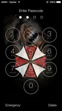 Resident Evil Lock Screen Wallpapers screenshot 2