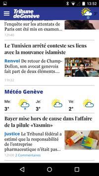 Tribune de Genève apk screenshot