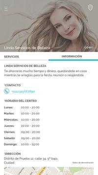 Linda Servicios de Belleza screenshot 3