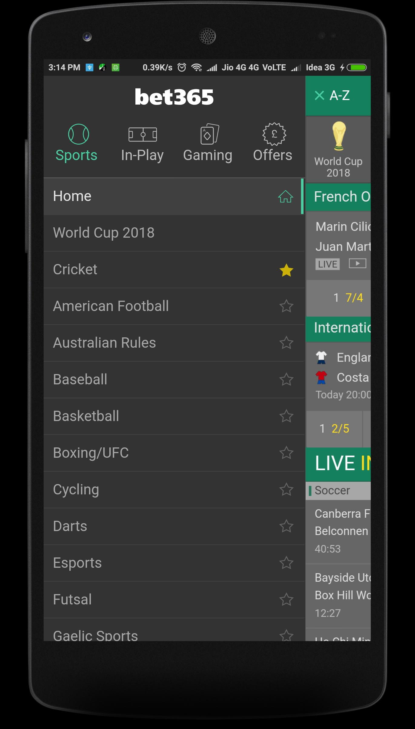 Bet365 app download for pc