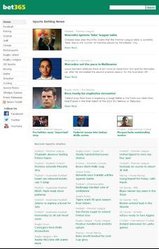 bet365 News screenshot 1
