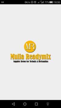 Mulia Readymix poster