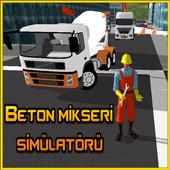 Beton Mikseri Simülatörü icon