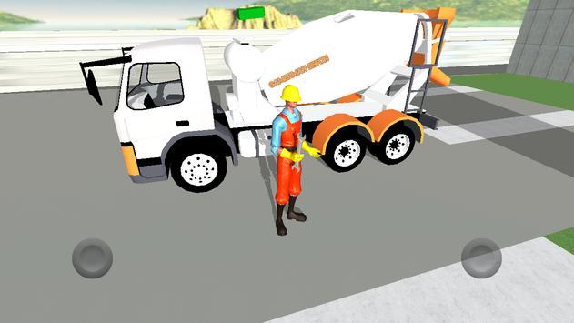 Beton Mikseri Simülatörü screenshot 7