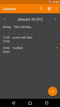 Beta Calendar apk screenshot