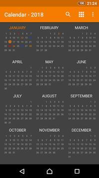Beta Calendar screenshot 4