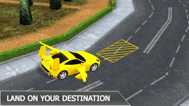 Flying Car City Transporting apk screenshot